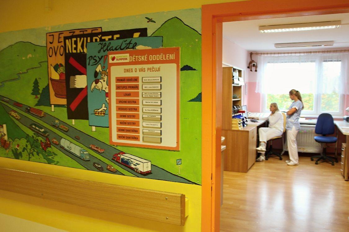Nemocnice Šumperk - Den otevřených dveří foto: sumpersko.net