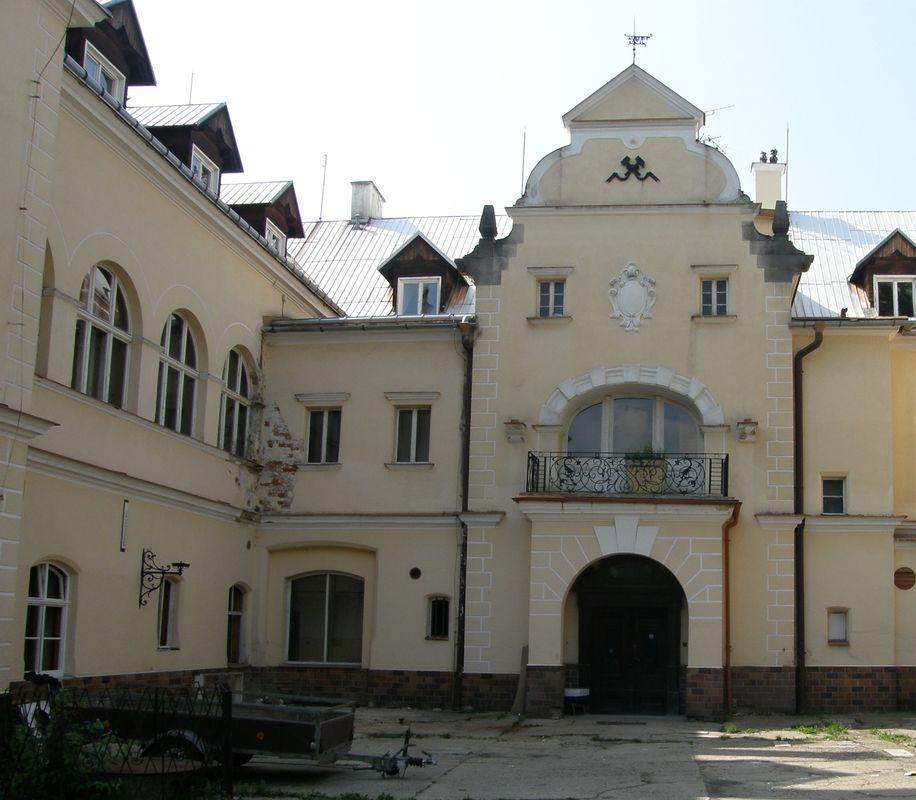 zámek Sobotín 1