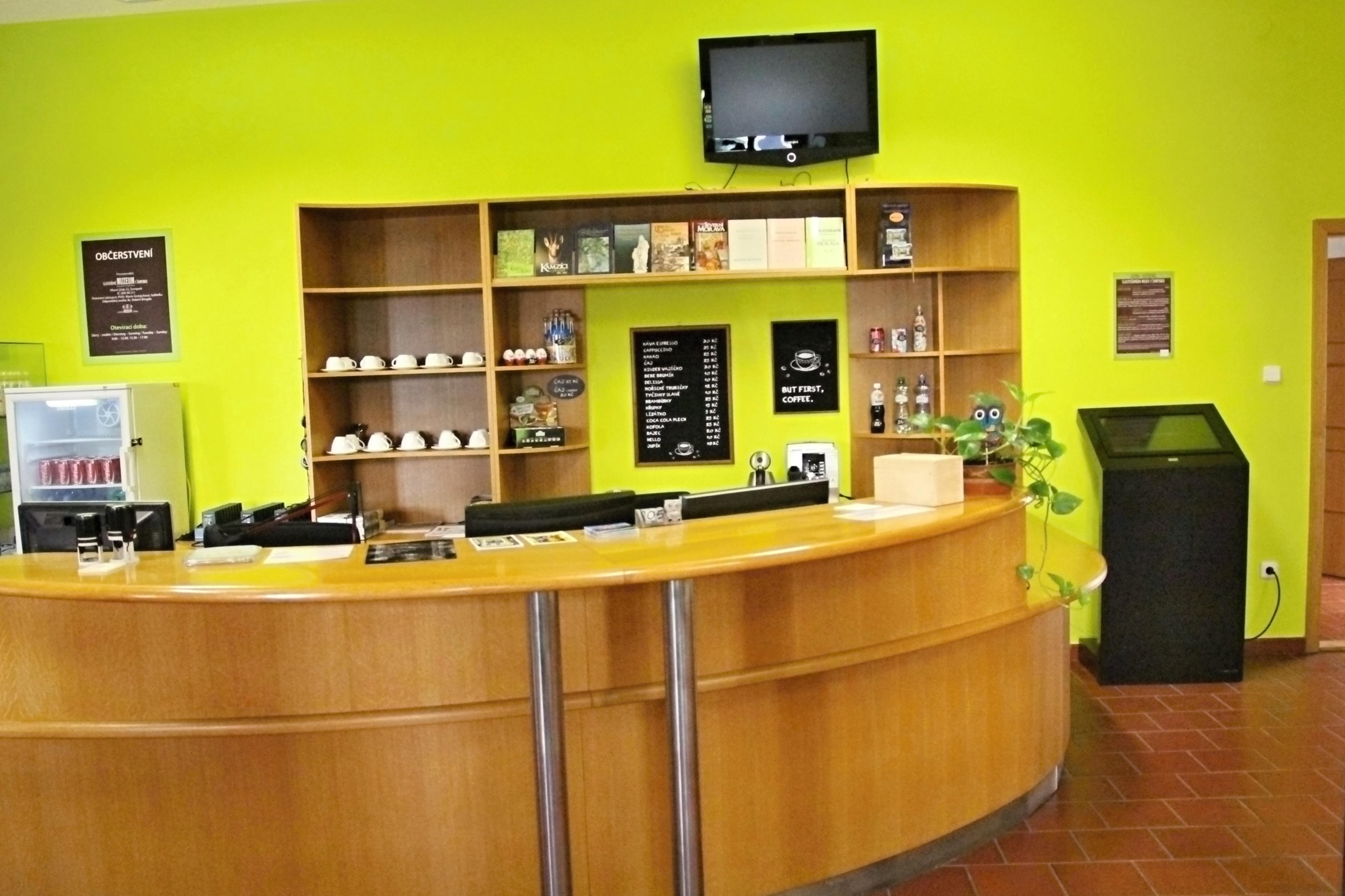 Šumperk - VM - hlavní vstup je přemístěn do vývalého informačního centra foto: sumpersko.net