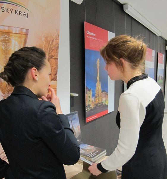 České památky UNESCO jsou vystaveny v Bruselu foto: Štěpán Krajča