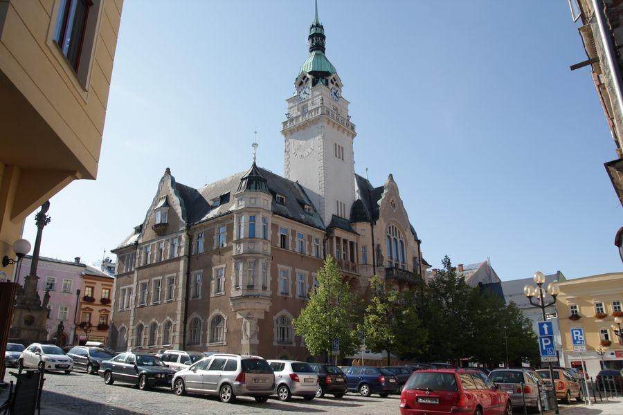 Šumperk - historická budova radnice foto: sumpersko.net