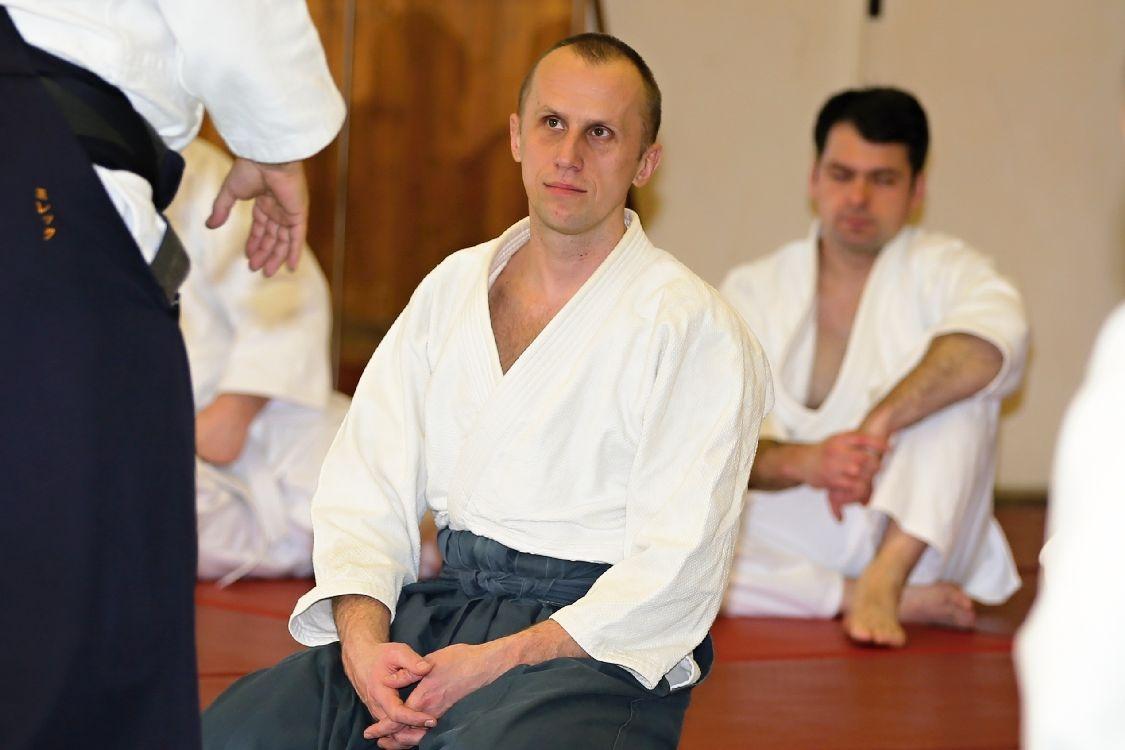 Aikido v Šumperku - Martin Janíčk zdroj foto: sumpersko.net