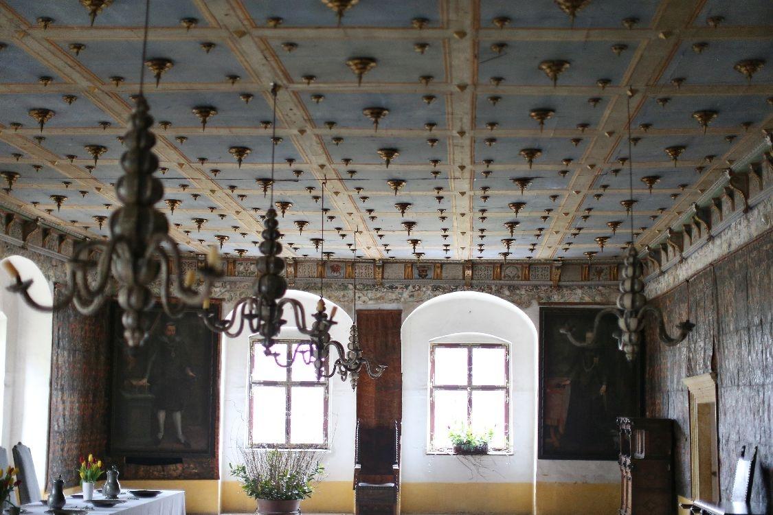 Velké Losiny - interiér zámku foto: sumpersko.net