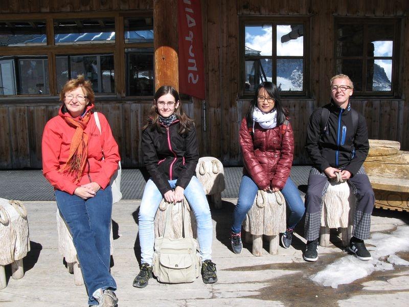 Mgr. Marie Holinková zdroj foto: Střední školy železniční, technické a služeb v Šumperku