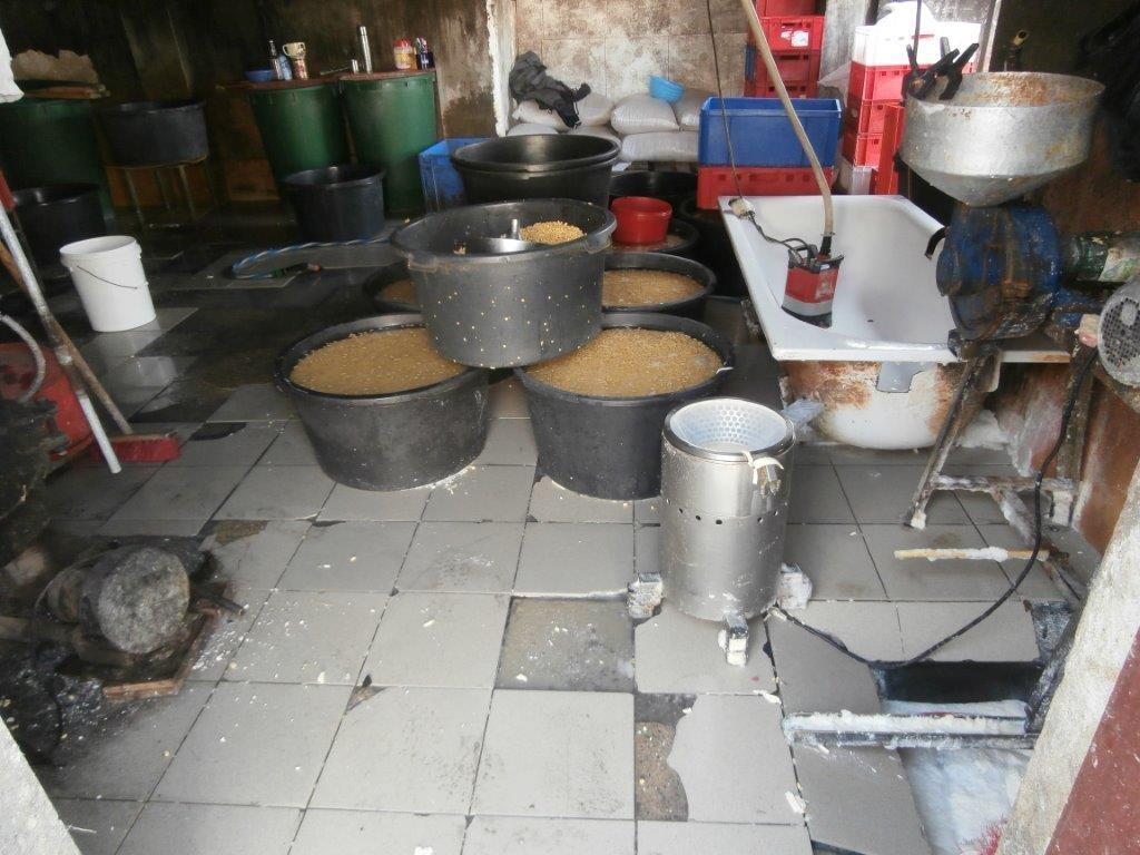 nelegální výroby tofu v garáži zdroj foto: SZPI