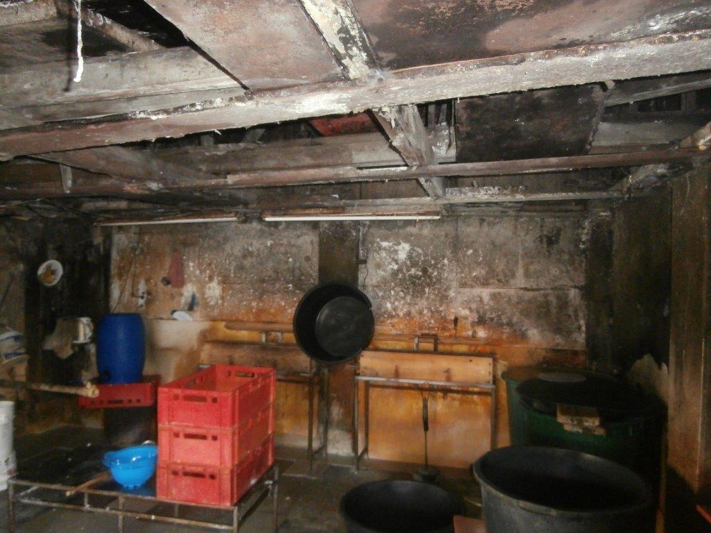 nelegální výroby tofu v garáži v Praze zdroj foto: SZPI
