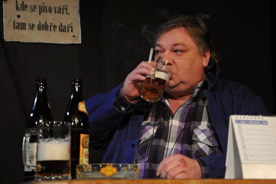 Havlovy Audience v podání ostravského herce Norberta Lichého zdroj foto: V. Sobol