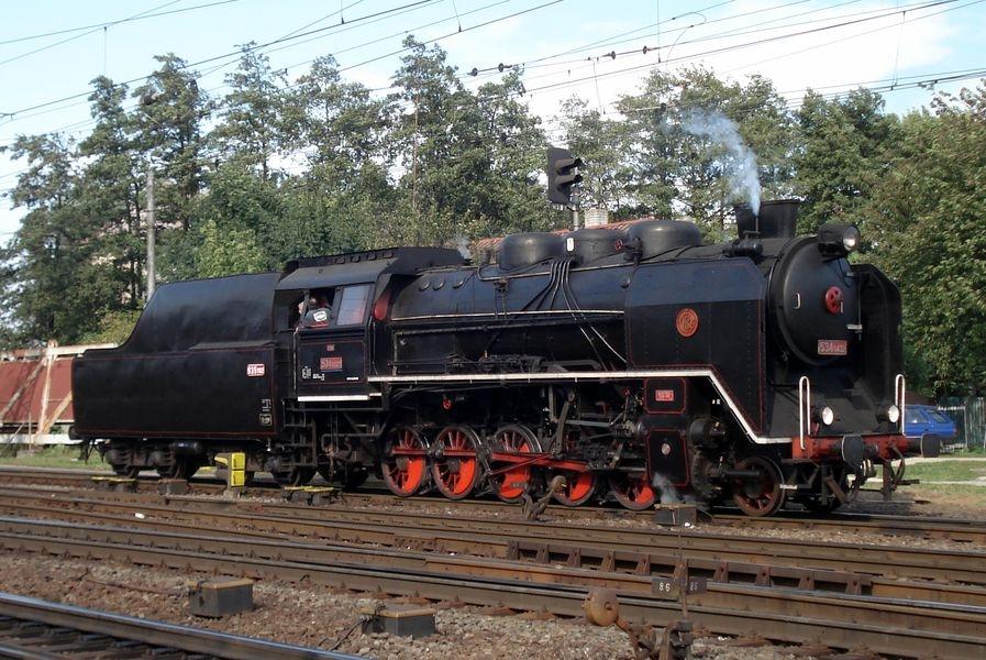 parní lokomotiva Kremák zdroj foto: ČD