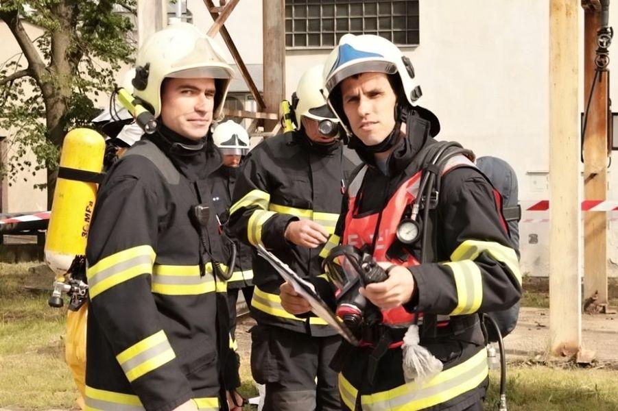 likvidace požáru v postřelmovské galvanovně - cvičení složek IZS zdroj foto: HZS Olk.