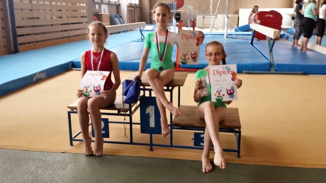 šumperské sportovní gymnastky si připisují úspěchy zdroj foto: oddíl