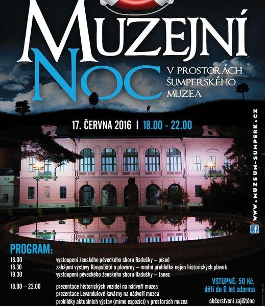Šumperk -Muzejní noc - pozvánka zdroj: VMŠ