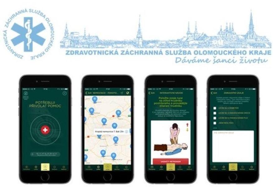mobilní aplikace Záchranka zdroj: archiv