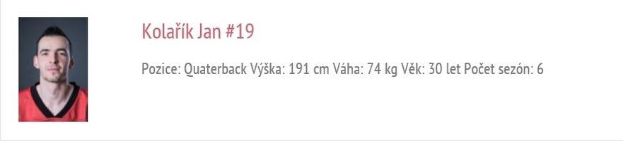 hrající hlavní trenér Jan Kolařík zdroj:klub