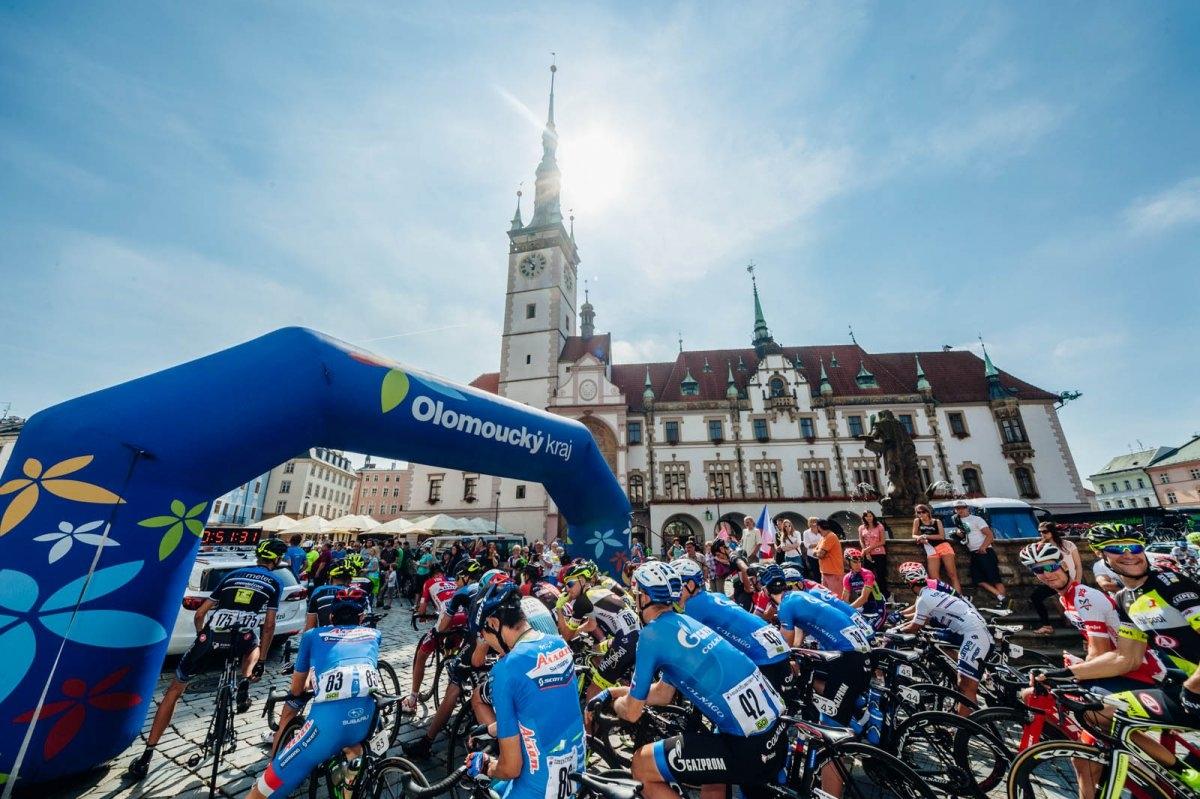 Czech Cycling Tour vyhrál Ital Ulissi, nejlepším z domácích jezdců je Karel Hník na čtvrtém místě zdroj foto: Olk.