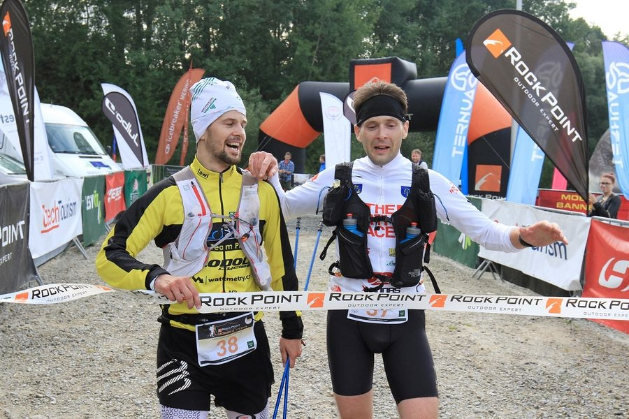 vítězná dvojice Jan Ďuk a Lukáš Pilař (zleva) foto: P. Pátek/PatRESS.cz