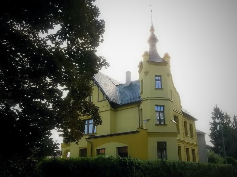 Šumperk - vila v Husitské ulici zdroj foto: mus