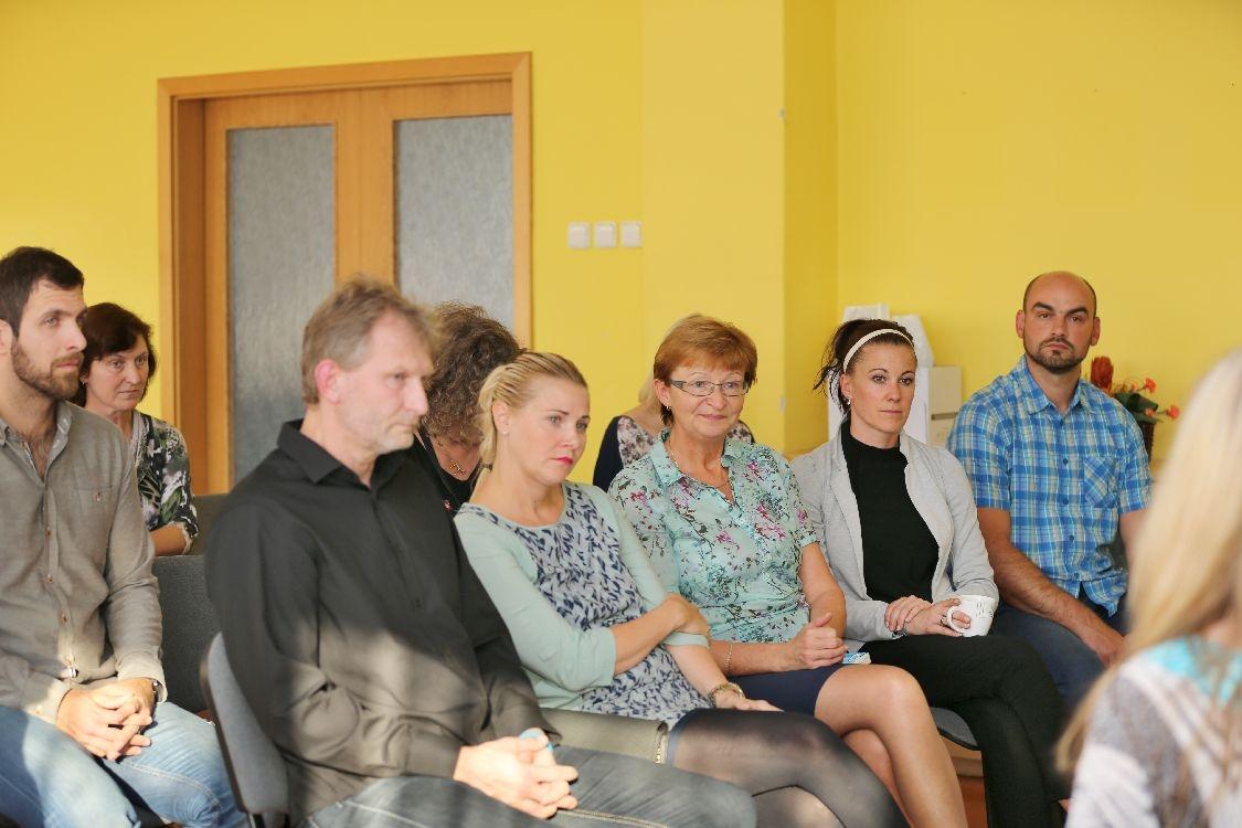 SŠŽTS Šumperk - beseda zaměstnaců s ministryní školství foto: sumpersko.net
