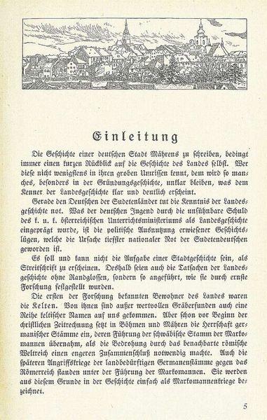 Dějiny Šumperka z roku 1923 zdroj: R. Auer