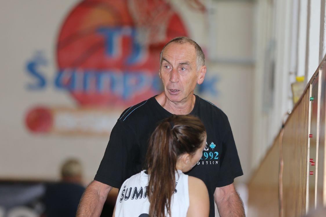 trenér Josef Sitař foto: sumpersko.net