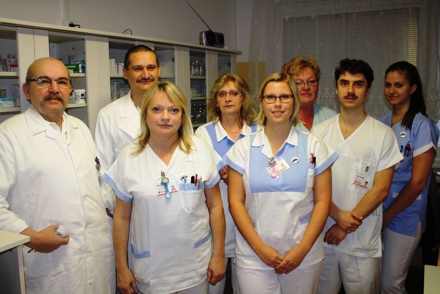 zdravotníci ake Movember zdroj foto: NŠ