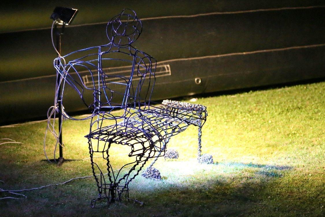 Bluesová lavička foto: archiv sumpersko.net