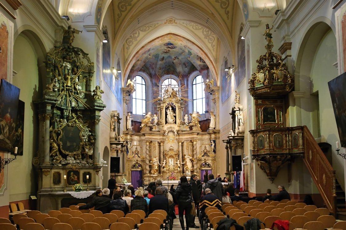 Šumperk - klášterní kostel Zvěstování Panny Marie foto: archiv sumperko.net
