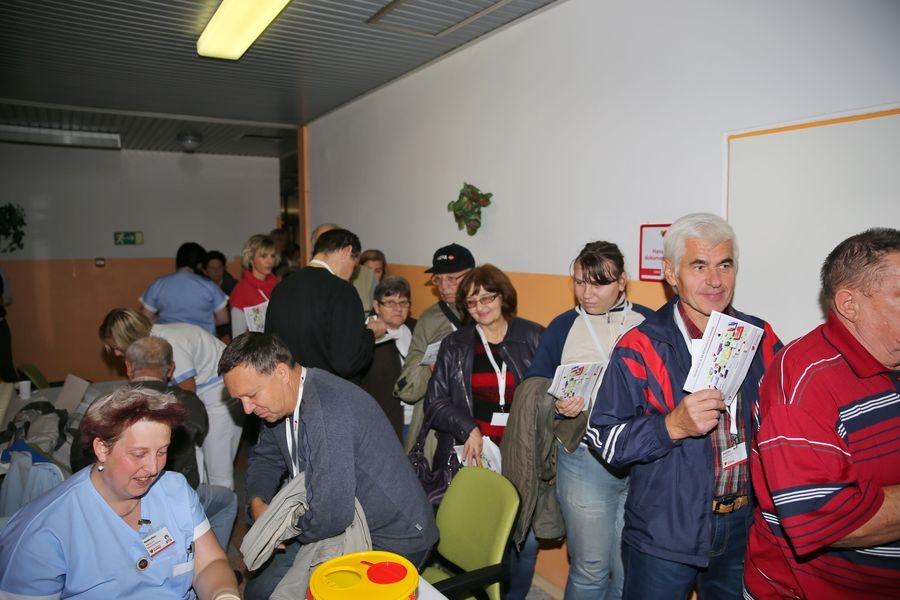 o vyšetření hladiny cukru v krvi byl v loňském roce velký zájem foto: archiv: sumpersko.net