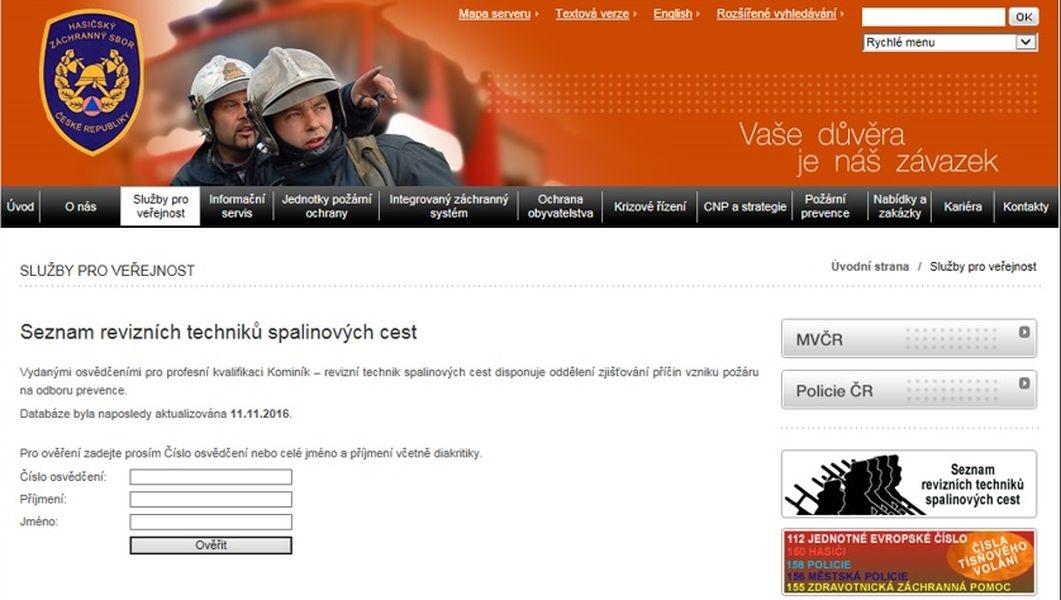 aplikace zdroj: GŘ HZS ČR