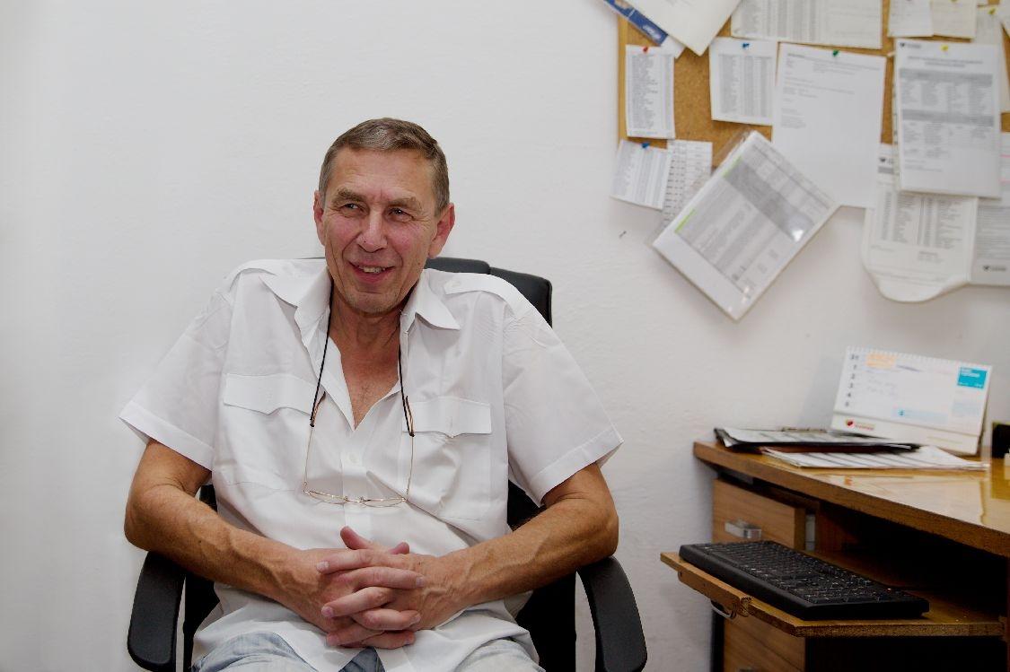 Miroslav Šamšula vedoucí zdravotní dopravní služby foto: sumpersko.net
