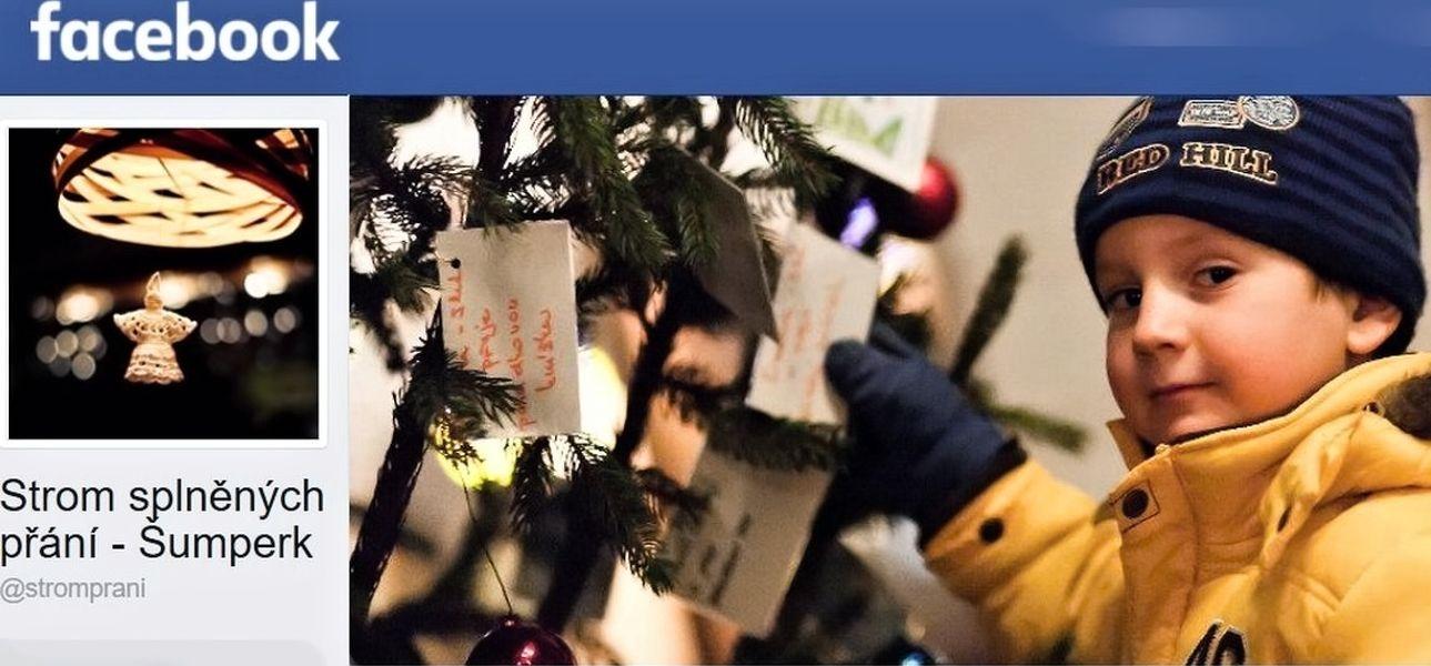 FB probil dobročinné akce www.facebook.com/stromprani