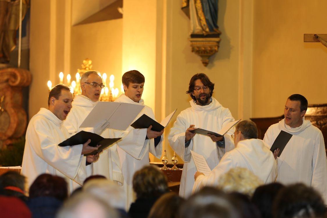 Zábřeh - adventní koncert Schola Gregoriana Pragensis foto: sumpersko.net