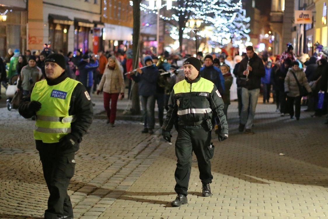 Strážníci městské policie pomáhají aktivně zabezpečovat kulturní akce ve městě zdroj foto: sumpersko.net