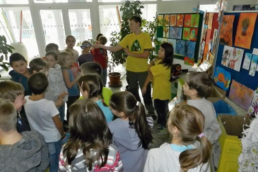 Ekotým na V. ZDŠ zdroj foto: škola