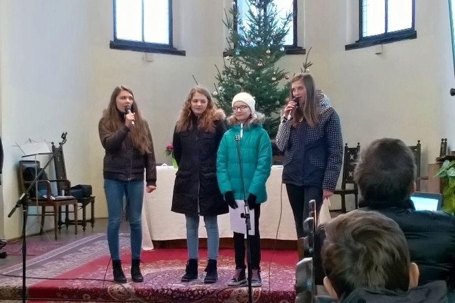 Šumperk - vánoční koncert dětí V. ZŠ zdroj foto: škola