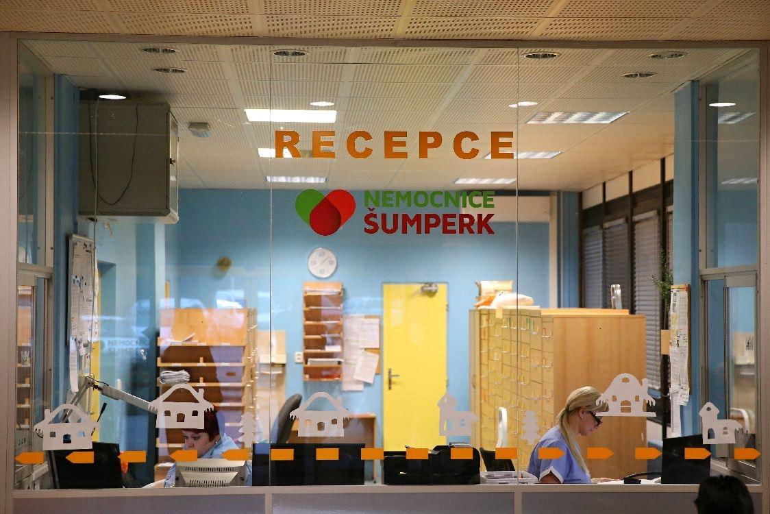 pracoviště recepce centrálního příjmu; foto: šumpersko.net