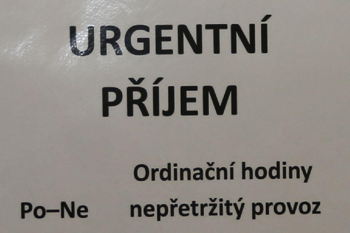 Urgemtmí příjem-nepřetržitý provoz; foto: šumpersko.net