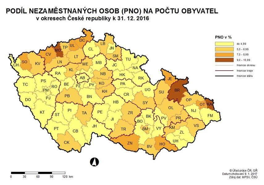 mapa zdroj: MPSV