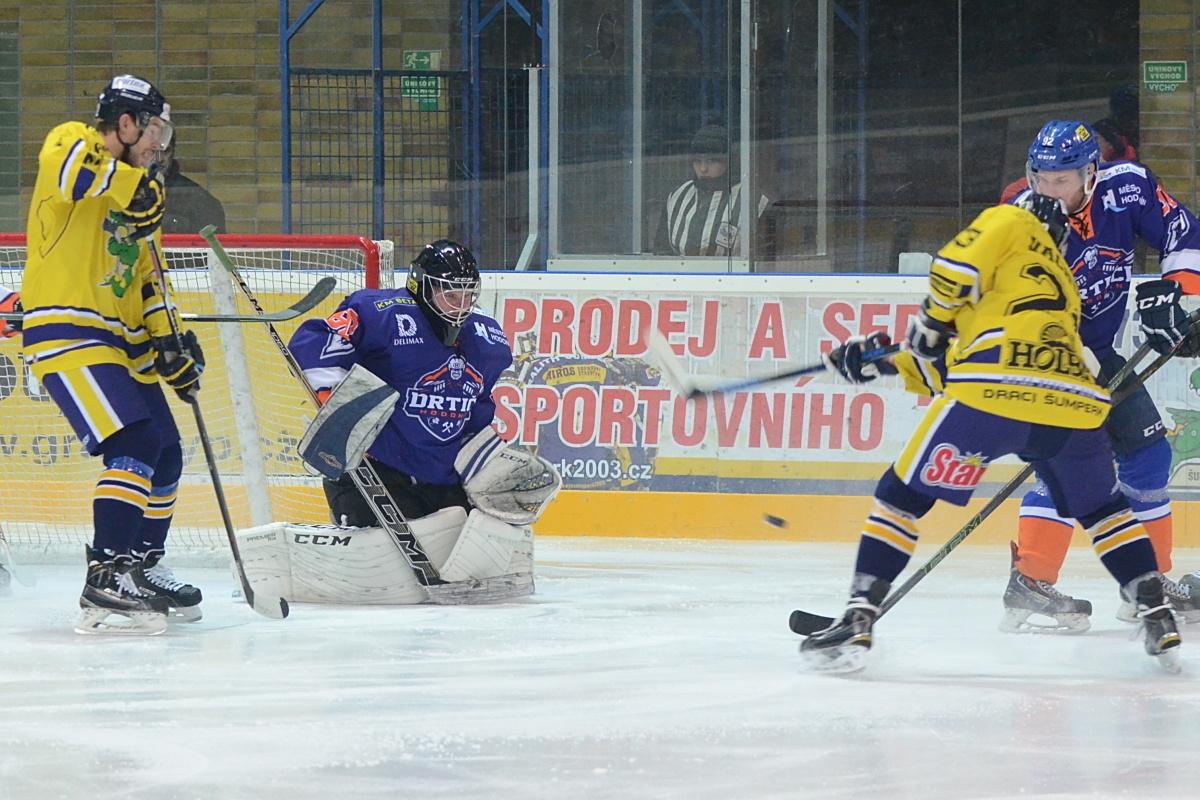 Šumperk vs Hodonín zdroj foto: Draci - V. Václavková