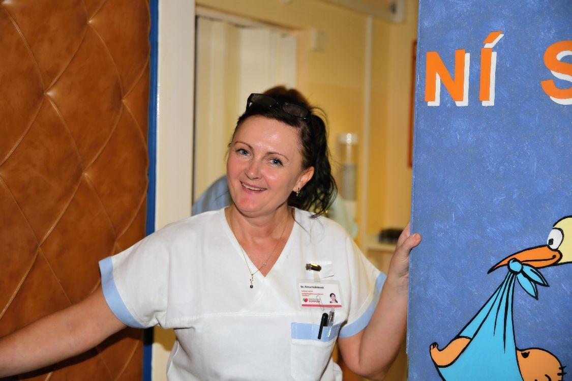 Bc. Anna Holinková, vedoucí porodní asistentka zdroj foto: archiv šumpersko.net