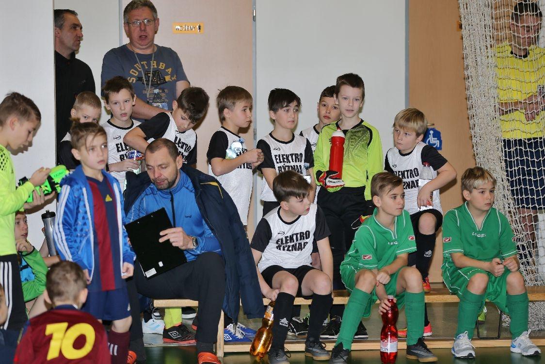 Nový Malín - halový turnaj starší přípravky foto: sumpersko.net