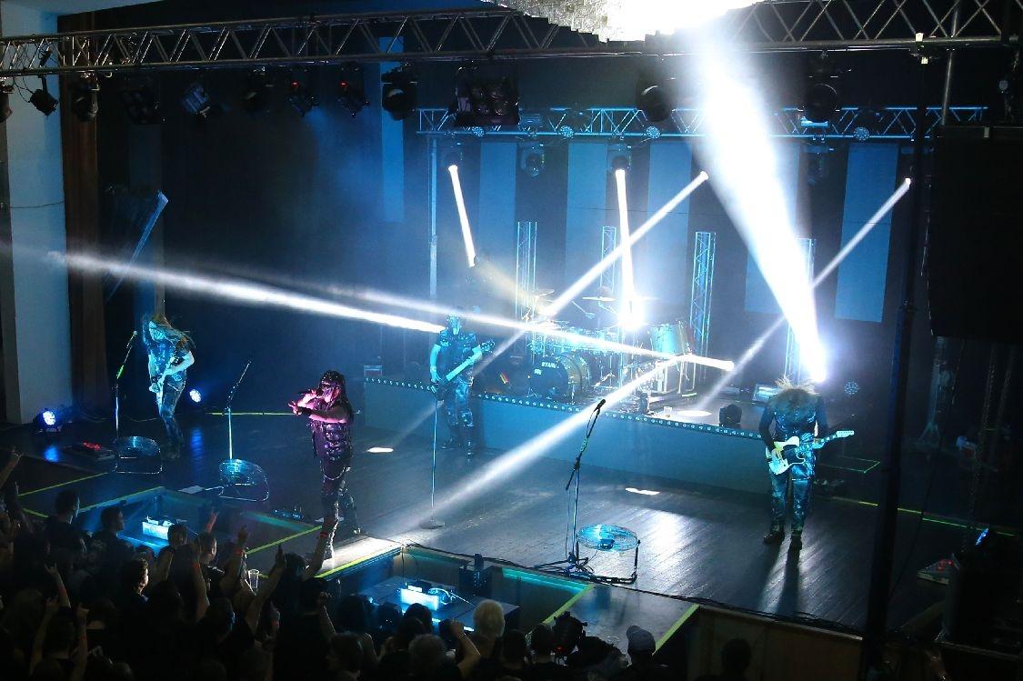 Velkolepá show kapely Dymytry v Šumperku foto: šumpersko.net
