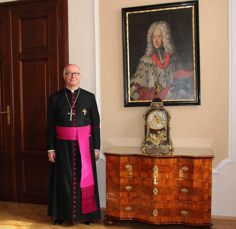Velmistr Bruno Platter v Olomouci 2012 foto:sumpersko.net