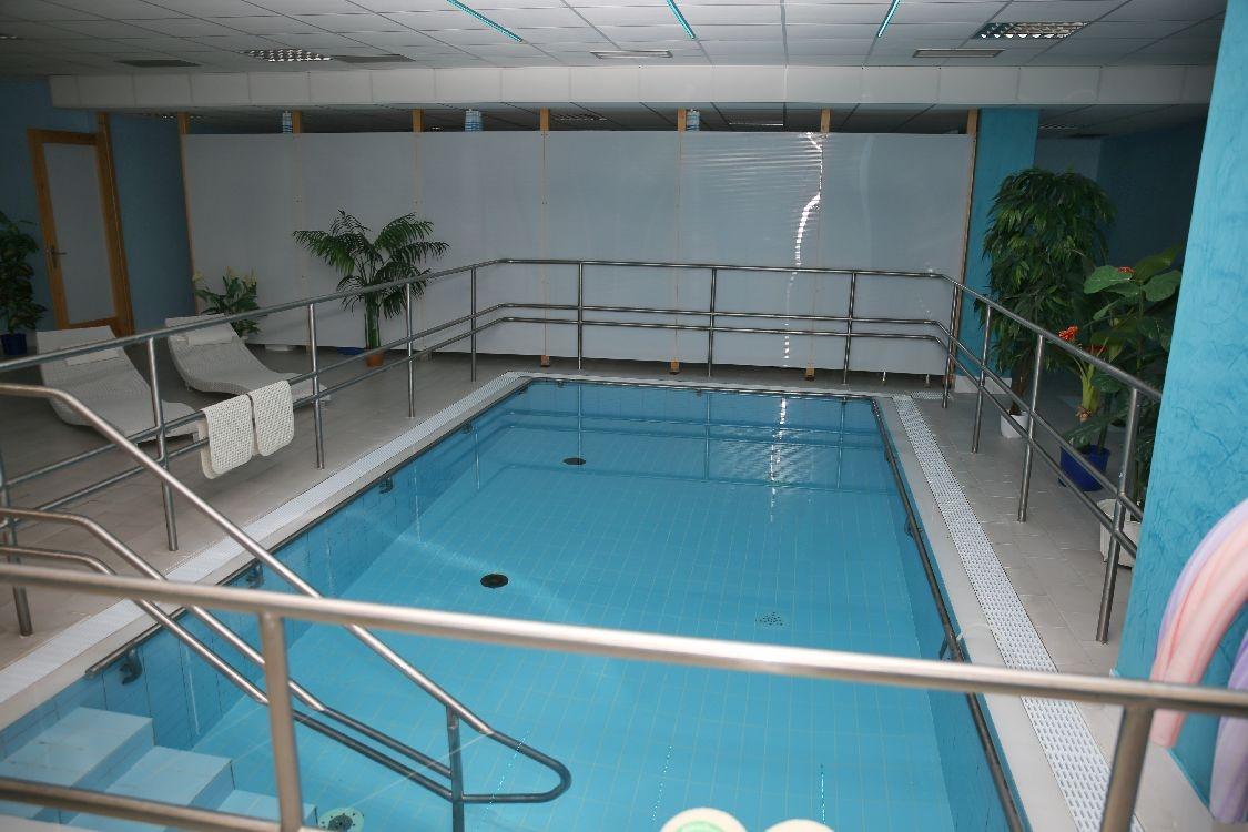 bazén v rámci rehabilitace před rekonstrukcí foto: archiv šumpersko.net