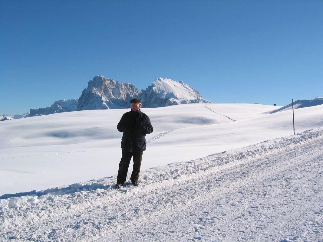 Bruno Platter - snímek ze zimní dovolené - archiv B.Platter