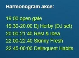 Delinquent Habits + guests v Šumperku zdroj: d.k.