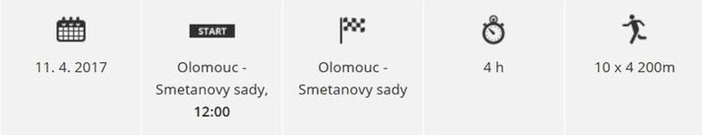 Juniorský maraton - Olomoucký kraj zdroj: RunCzech