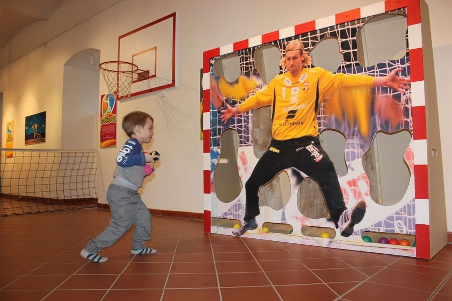 pozvánka na výstavu Sportovní herna zdroj foto: VMŠ