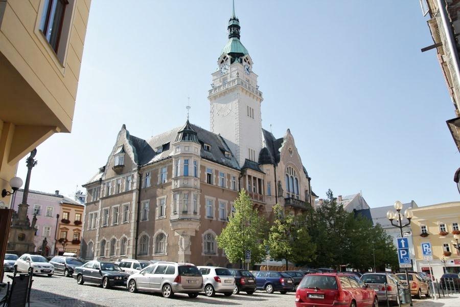 Šumperk - historická budova radnice zdroj foto: archiv šumpersko.net