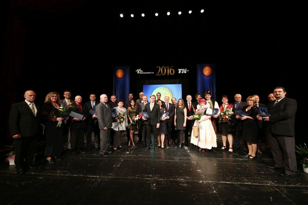 Ceny Olomouckého kraje za přínos v oblasti kultury za rok 2016 mají své držitele zdroj foto: OLK