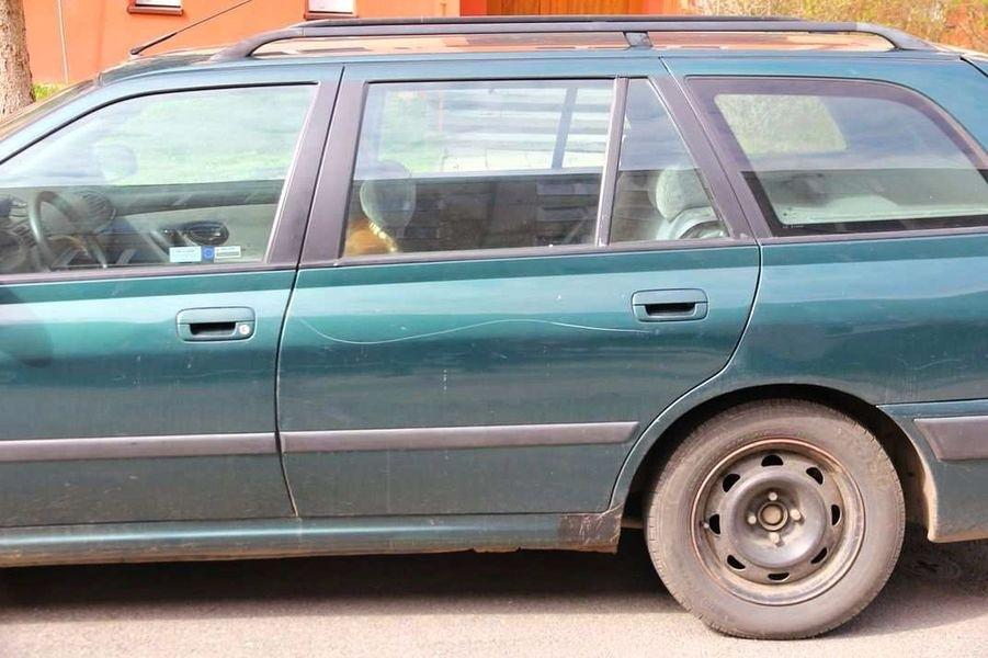 Šumperk - poškozené vozidlo zdroj foto: PČR